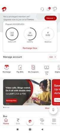 check-airtel-4g-internet-balance-using-airtel-thanks-app