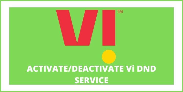 how-activate-dnd service-in-vi